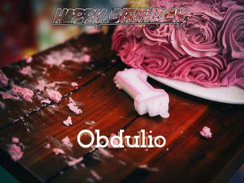 Obdulio Birthday Celebration