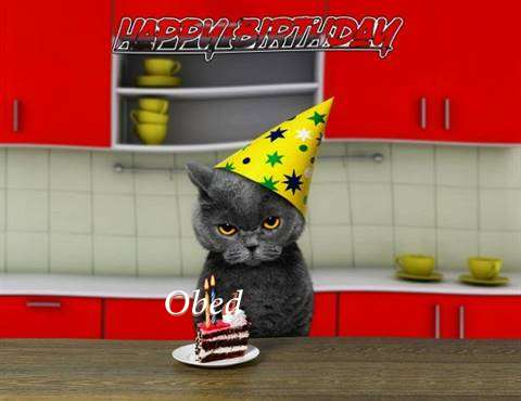 Happy Birthday Obed