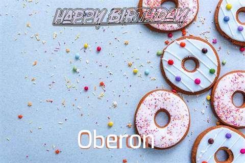 Happy Birthday Oberon Cake Image