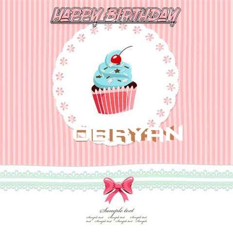 Happy Birthday to You Obryan