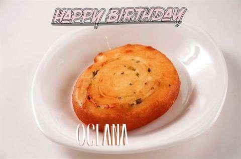 Happy Birthday Cake for Oceana