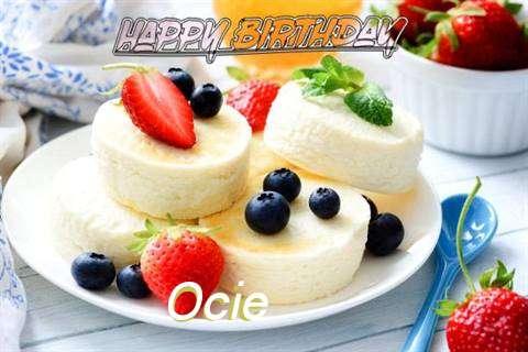 Happy Birthday Wishes for Ocie