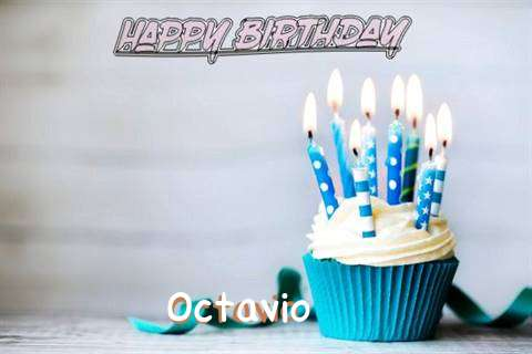 Happy Birthday Octavio Cake Image