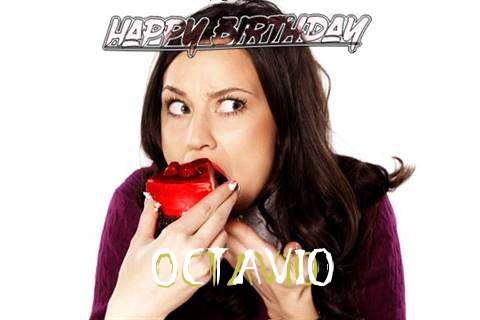 Happy Birthday Wishes for Octavio