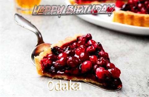 Birthday Wishes with Images of Odaka
