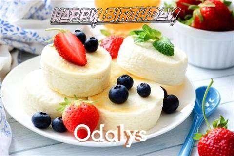 Happy Birthday Wishes for Odalys