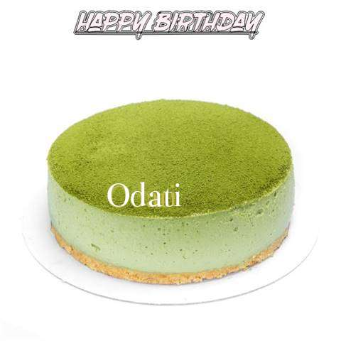 Happy Birthday Cake for Odati