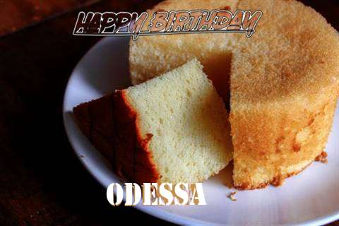 Happy Birthday to You Odessa