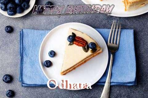 Happy Birthday Odhara Cake Image
