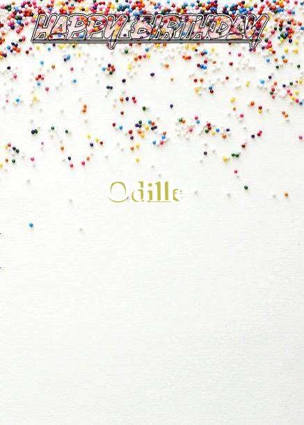 Happy Birthday Odille