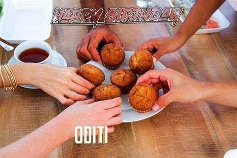 Happy Birthday Wishes for Oditi