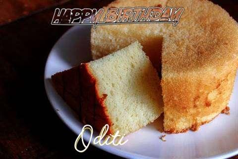 Happy Birthday to You Oditi