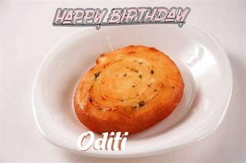 Happy Birthday Cake for Oditi