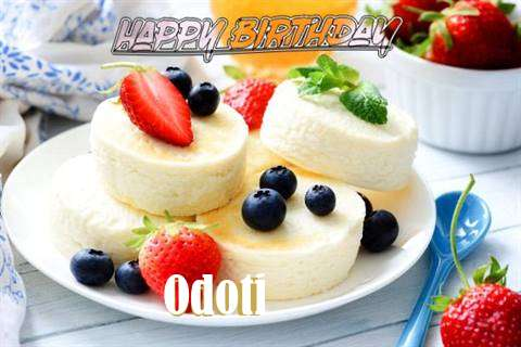 Happy Birthday Wishes for Odoti