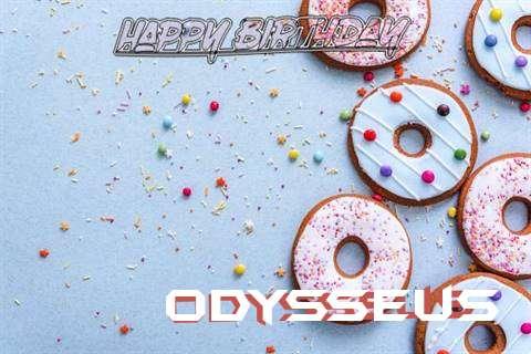Happy Birthday Odysseus Cake Image