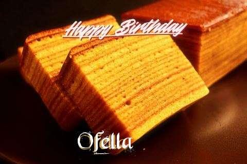 Happy Birthday Ofella