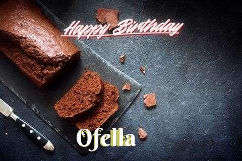 Happy Birthday to You Ofella