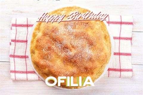 Happy Birthday Ofilia