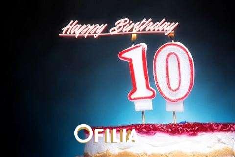 Ofilia Birthday Celebration