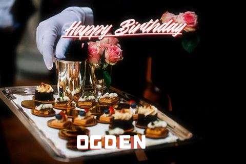 Happy Birthday Ogden Cake Image