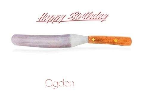 Ogden Birthday Celebration