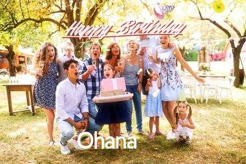 Happy Birthday Wishes for Ohana