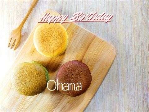 Happy Birthday Cake for Ohana