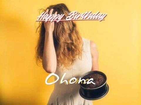 Happy Birthday Ohona