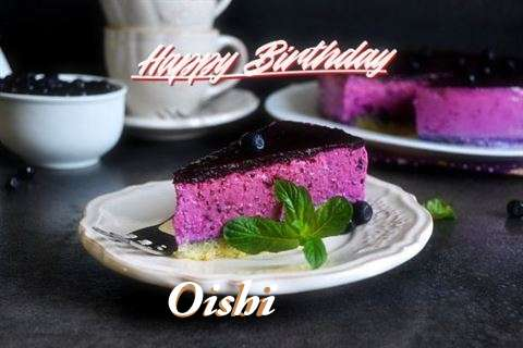 Happy Birthday Oishi
