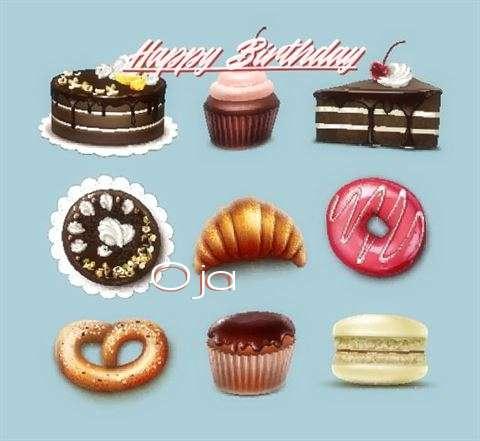 Happy Birthday Cake for Oja