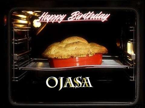 Happy Birthday Ojasa Cake Image