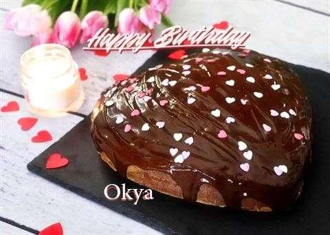 Happy Birthday Wishes for Okya
