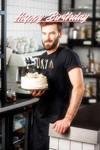 Happy Birthday Cake for Okya