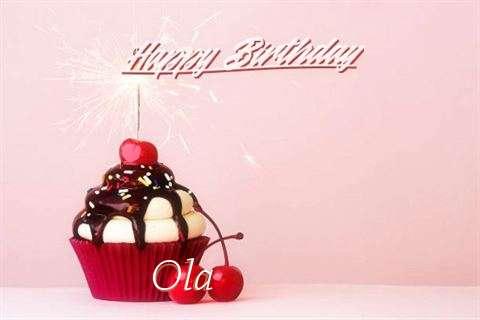 Happy Birthday Ola