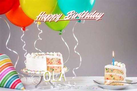 Happy Birthday Wishes for Ola