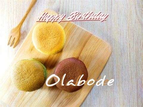 Happy Birthday Cake for Olabode