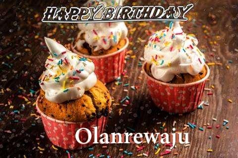 Happy Birthday Olanrewaju Cake Image