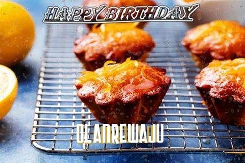 Happy Birthday Cake for Olanrewaju