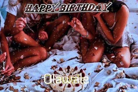 Happy Birthday Cake for Olawale