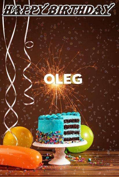 Happy Birthday Cake for Oleg