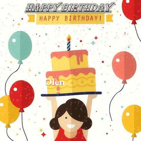 Happy Birthday Olen