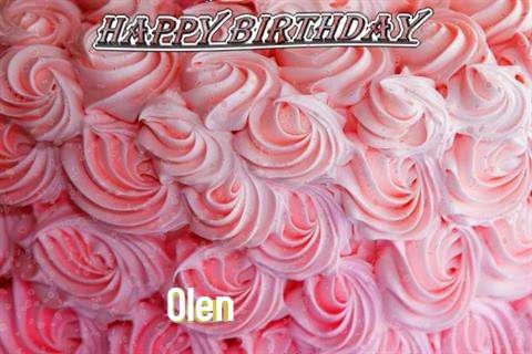 Olen Birthday Celebration