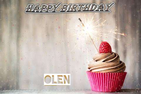Happy Birthday to You Olen