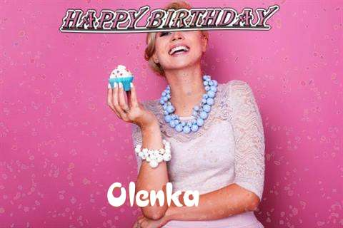 Happy Birthday Wishes for Olenka