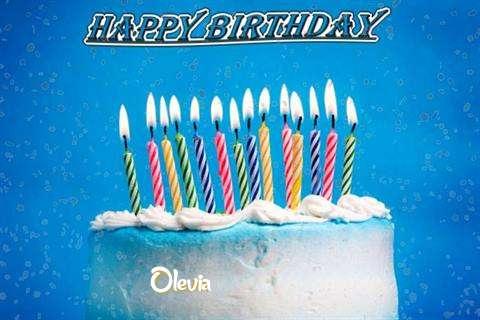 Happy Birthday Cake for Olevia