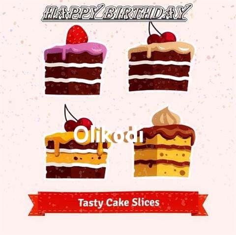 Happy Birthday Olikodi Cake Image