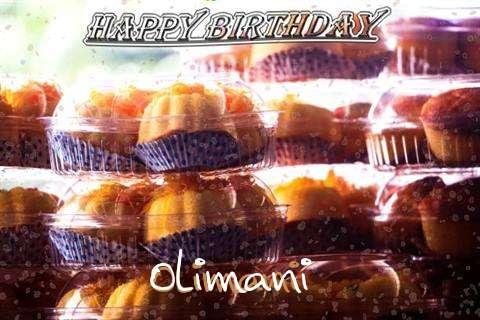 Happy Birthday Wishes for Olimani