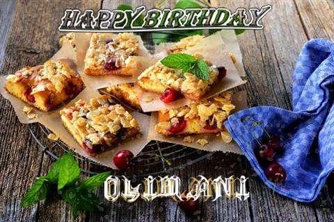 Happy Birthday Cake for Olimani