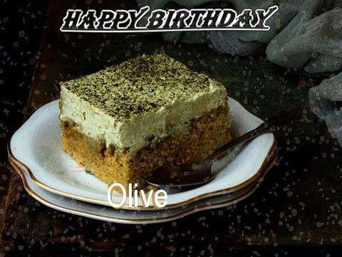 Olive Birthday Celebration
