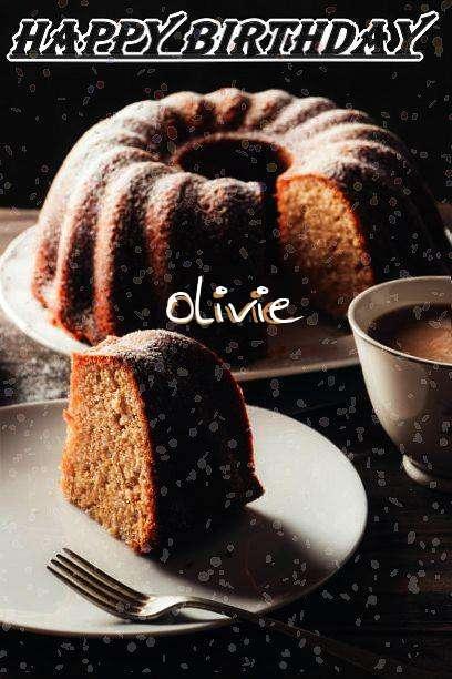 Happy Birthday Olivie